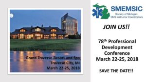Society of Michigan EMS Instructor Coordinators (SMEMSIC)