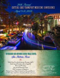Join us in San Antonio for CCTMC!