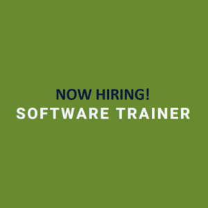 Now Hiring Software Trainer!