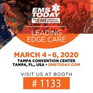 Come see us at EMS Today! in Tampa, Florida in March!