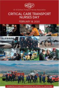 Critical Care Transport Nurses Day!